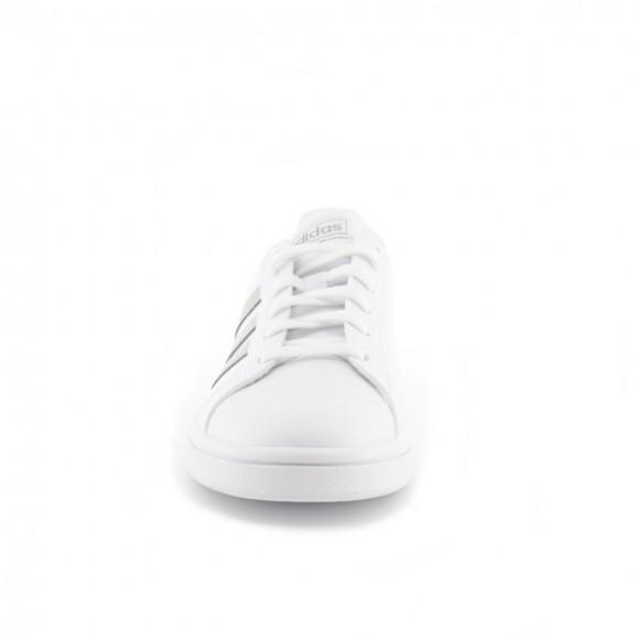 Zapatillas Adidas Grand Court Base Blanco-Plata