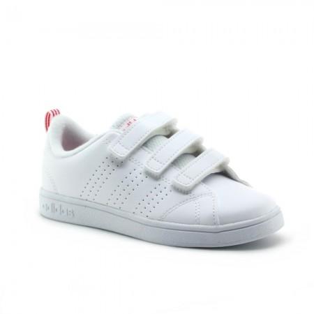 Zapatillas Adidas Advantage Blanco-Rosa 3V
