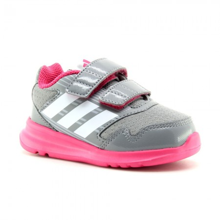 Zapatillas Adidas AltaRun Gris-Rosa