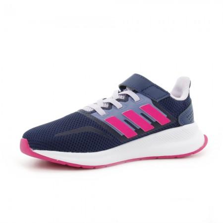 Zapatillas Adidas RunFalcon Azul-Fucsia