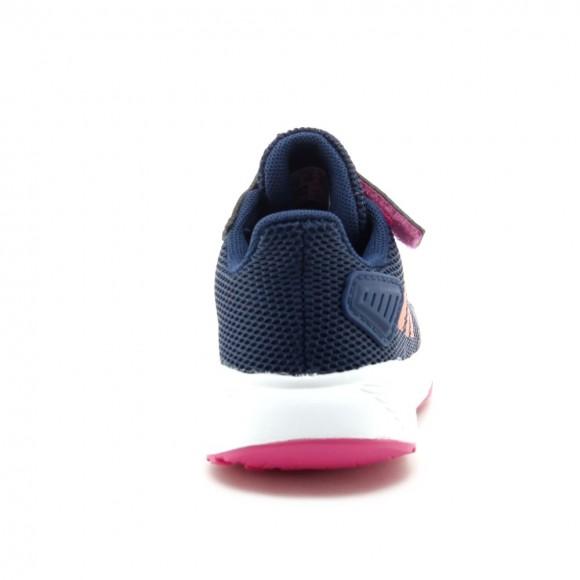 Zapatillas Adidas Duramo Azul-Coral-Rosa