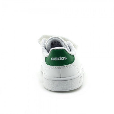 Zapatillas Adidas Advantage Blanco-Verde 2V