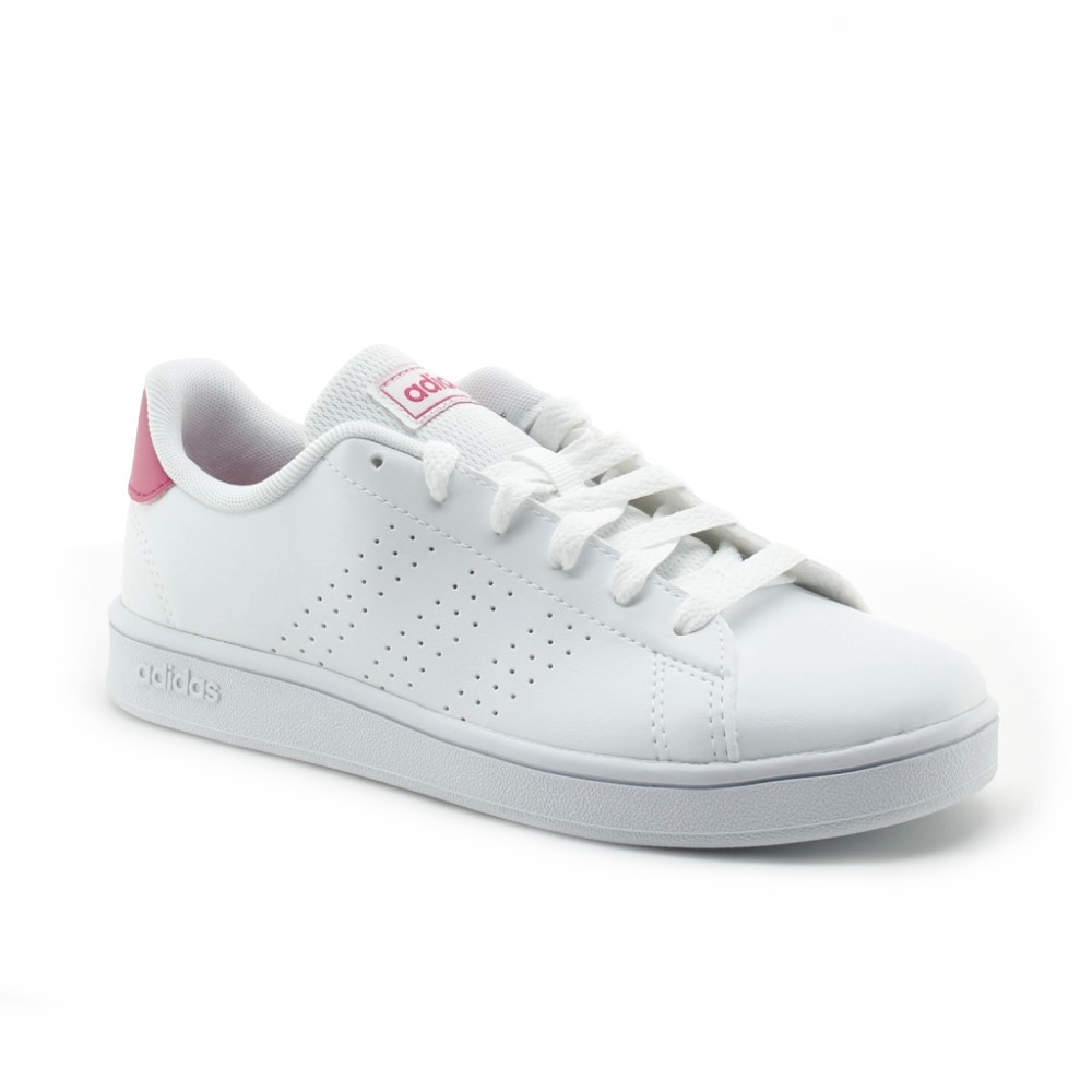 Zapatillas Adidas Advantage Blanco-Fucsia C