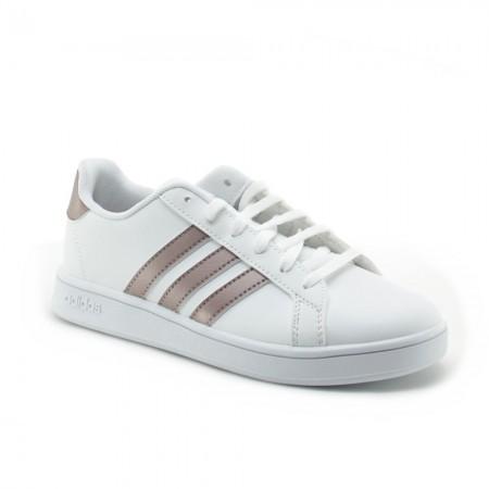 Adidas Grand Court Blanco-Bronce C