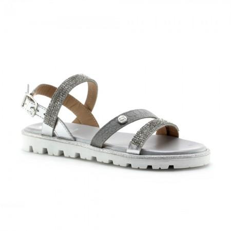 Sandalias de niña Gioseppo 44655 Plata-Multi