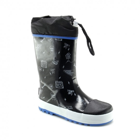 Botas de agua Gioseppo Negro Skate