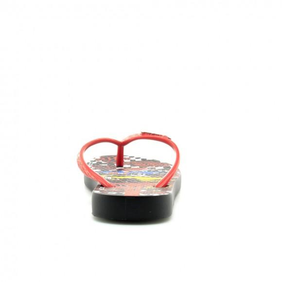 Sandlias agua Ipanema Hot Wheels Negro
