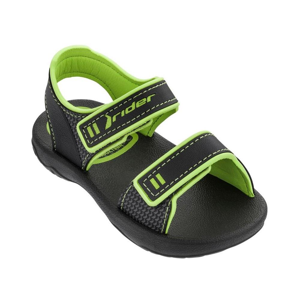 Sandalias Ipanema Basic IV Negro-Verde