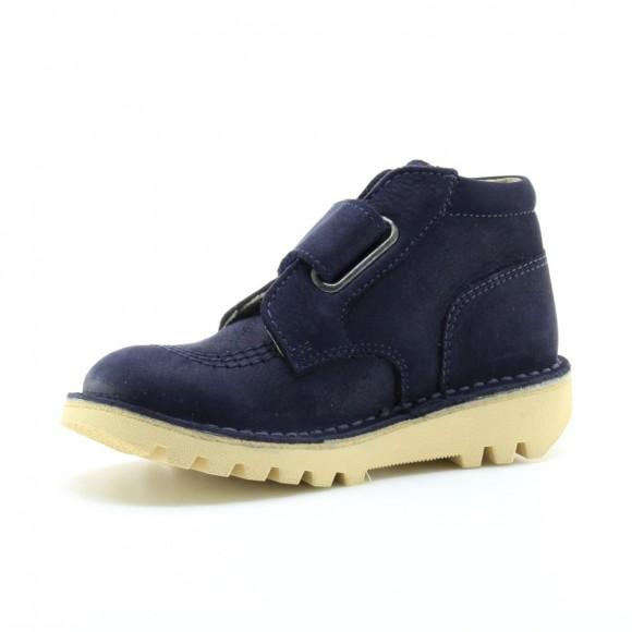Zapato abotinado Kickers Neokrafty Azul