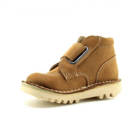 Zapatos Kickers NeoKrafty Camel
