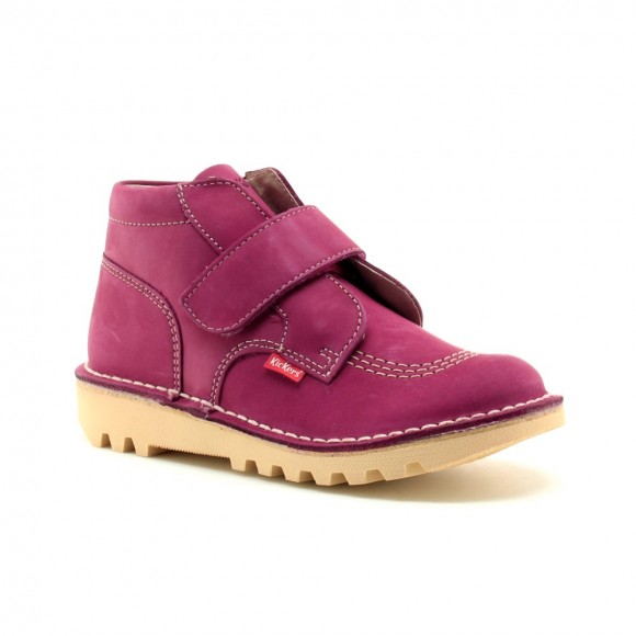 Zapato abotinado Kickers Neokrafty Fucsia
