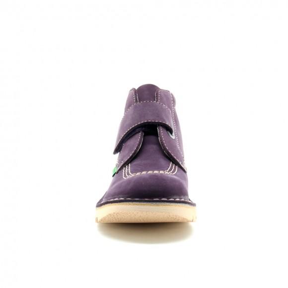 Zapato abotinado Kickers Neokrafty Lila