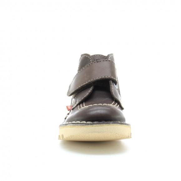 Zapatos Kickers NeoKrafty Marrón