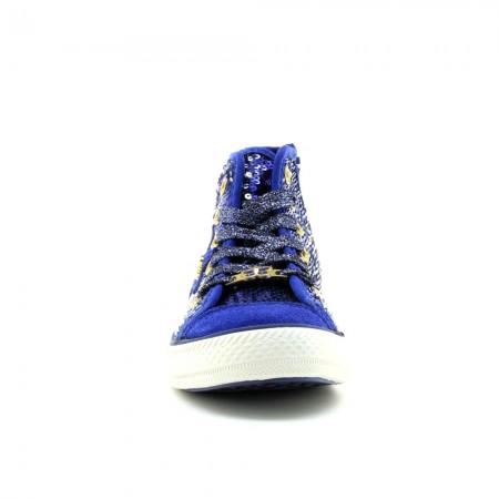 Zapatillas Lulú Lurex Azul