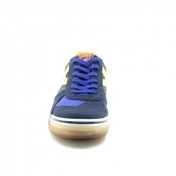 Zapatillas Munich G-3 Azul-Amarillo C