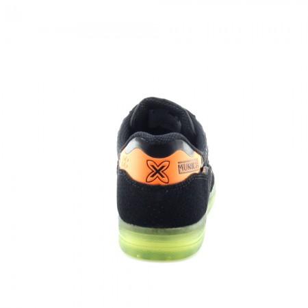 Zapatillas Munich G-3 Negro-Naranja C