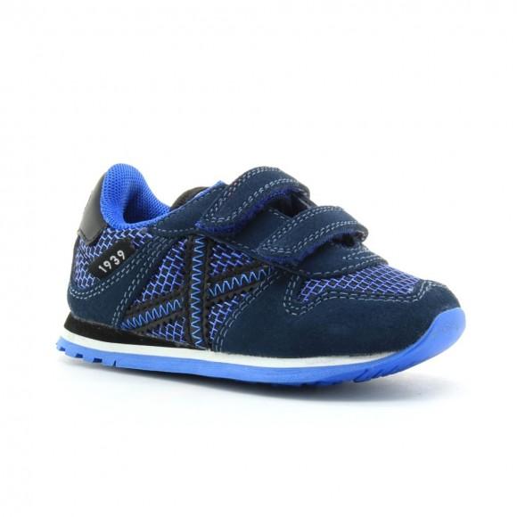 Zapatillas Munich Baby Massana Azul BB