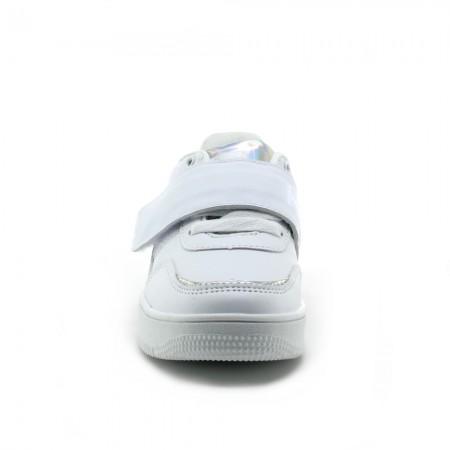 Mustang Trix Zapatillas leds Blanco-Plata