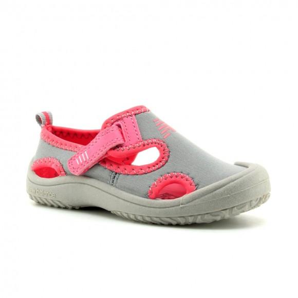 Sandalias de agua New Balance Gris-Rosa