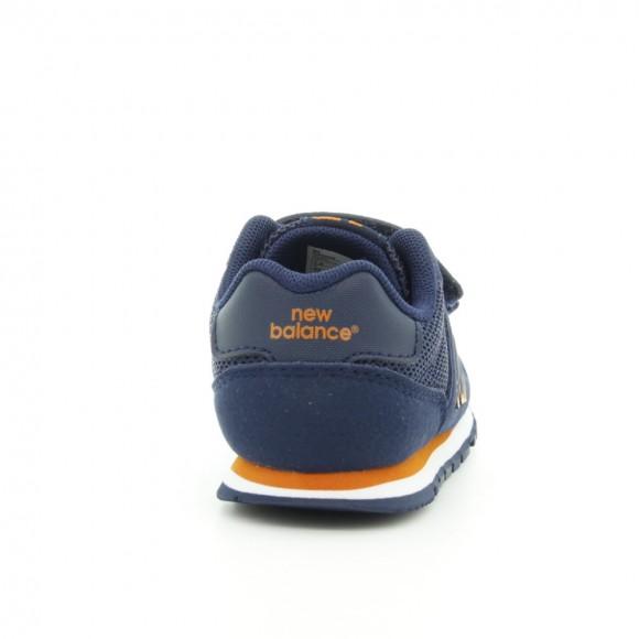 Zapatillas New Balance 500 Azul-Naranja