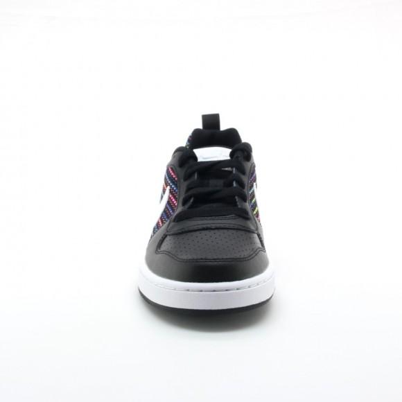 Zapatillas Nike niños C.Borough Negro-Blanco C