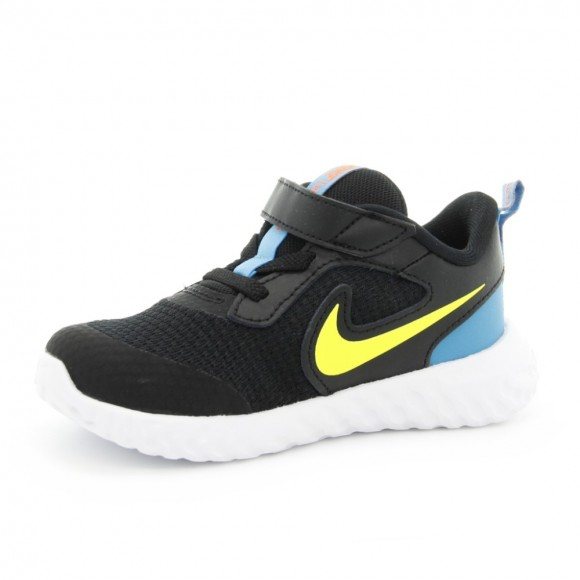 Zapatillas Nike Revolution 5 Negro-Amarillo