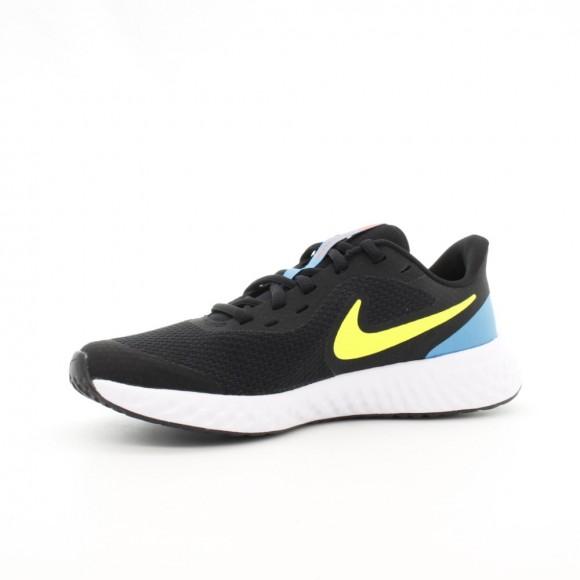 Zapatillas Nike Revolution 5 Negro-Amarillo C