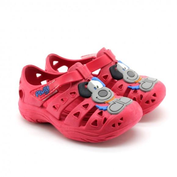 Sandalias de agua Plugt Perro Rojo