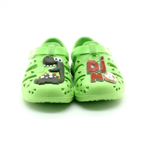Sandalias de agua Plugt Dino Verde