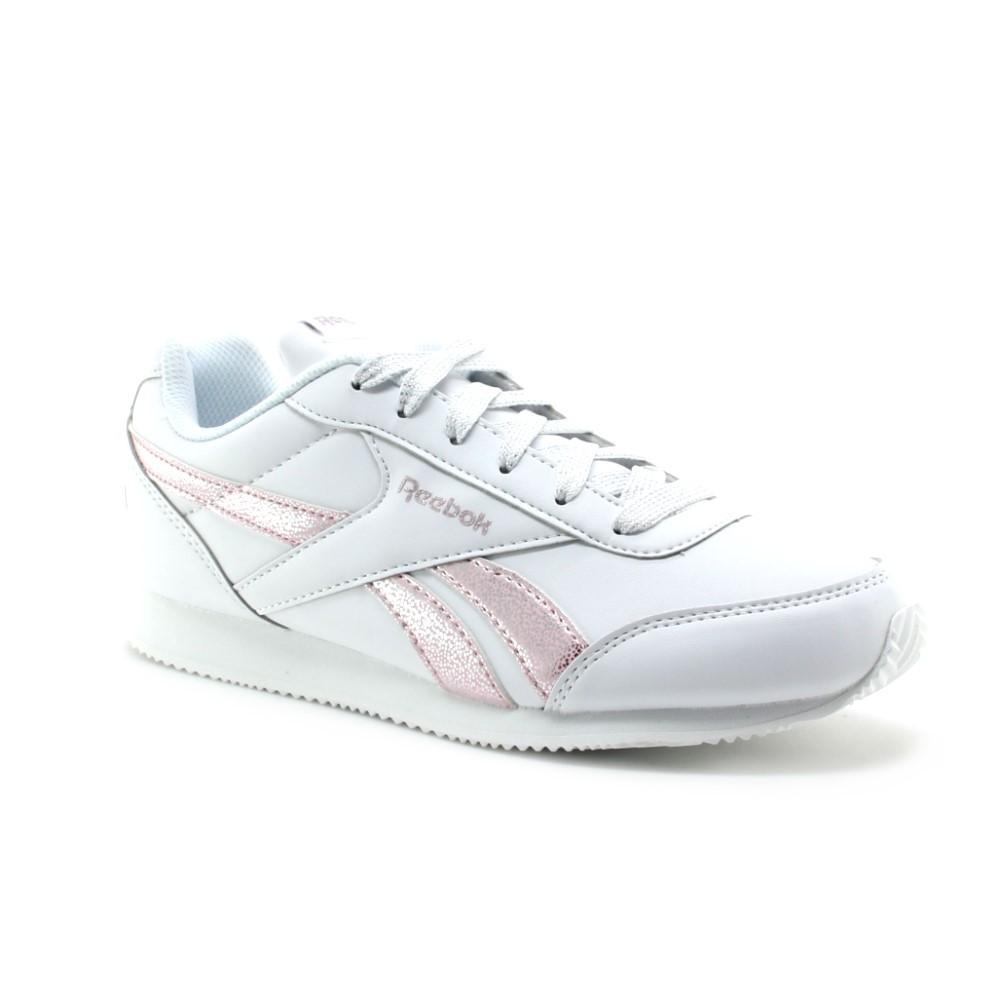 Zapatillas Reebok V Jogg Blanco-Rosa C