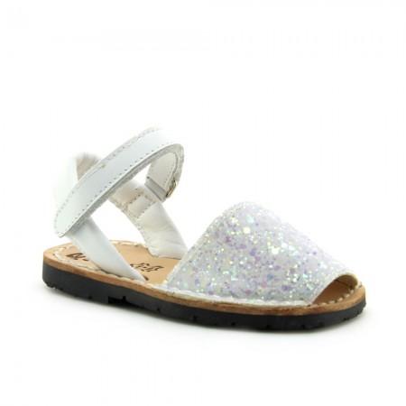Ria Bebe Glitter Blanco