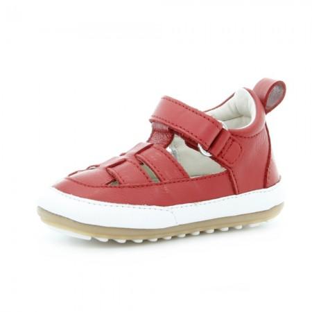 Zapatos bebé Robeez Miniz Rojo