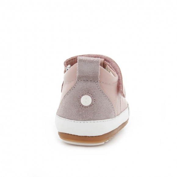 Zapatos bebé Robeez Miniz Rosa