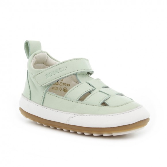 Zapatos bebé Robeez Miniz Verde