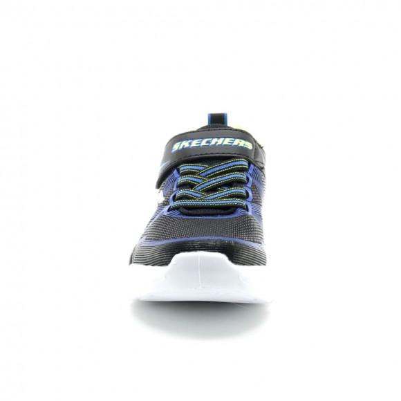Skechers Luces Flex-Glow Negro-Azul
