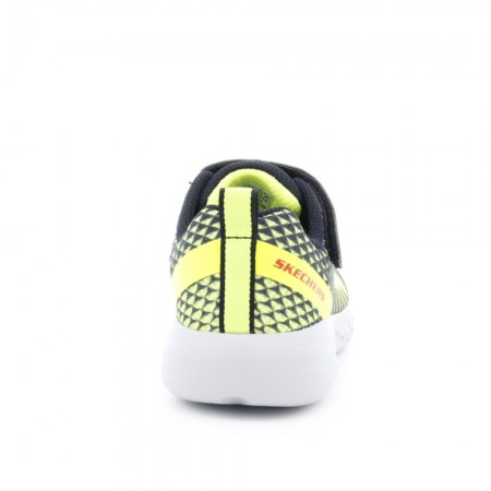 Zapatillas Skechers Go Run 600 Amarillo-Negro