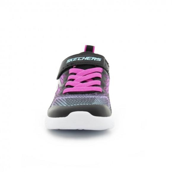 Zapatillas Skechers Go Run 600 Negro-Fucsia