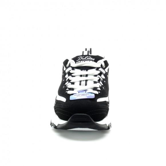 Zapatillas Skechers D'Lites Negro-Blanco