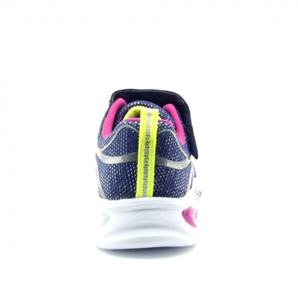 Zapatillas luces Skechers Shimmer Beams Azul