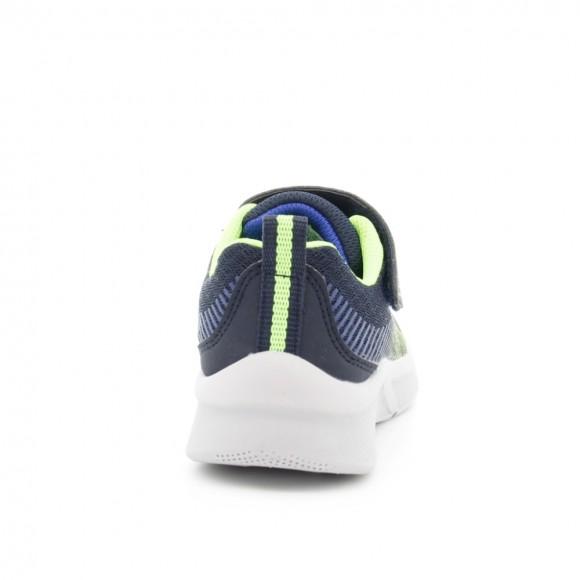 Zapatillas Skechers Microspec Azul-Verde
