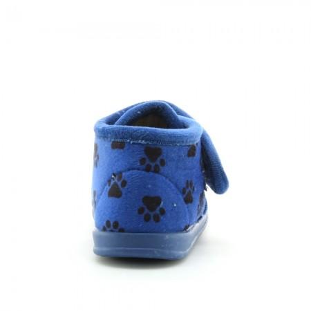 Pantuflas Perritos 1083 Azul