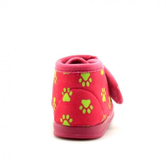Pantuflas Perritos 1083 Rosa