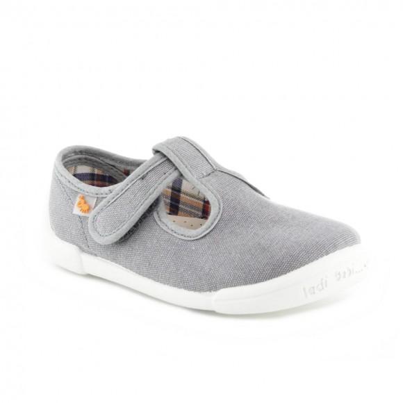 Zapatos lona Vulladi Picolo Gris