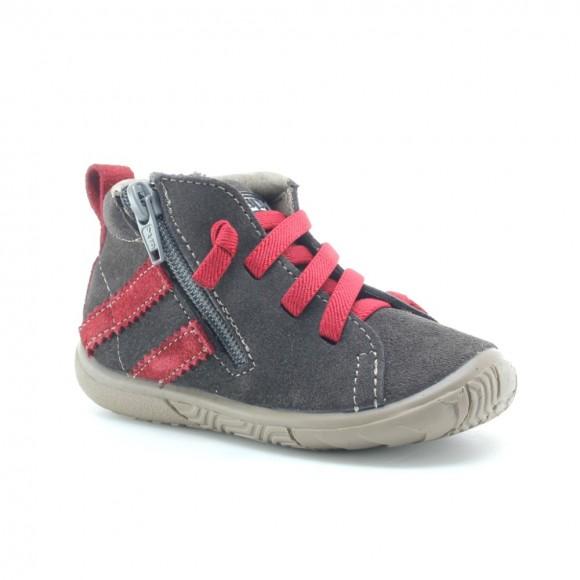 Zapatos niños Zapy 72460 Gris-Granate