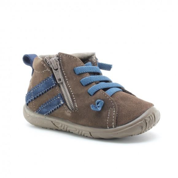 Zapatos niños Zapy 72417 Marrón-Jeans