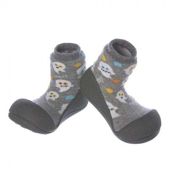 Attipas calcetines Halloween Gris