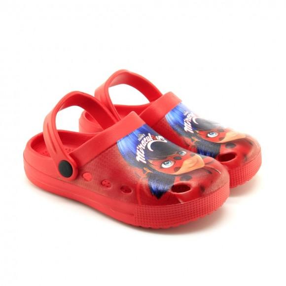 Sandalias de agua Ladybag Rojo
