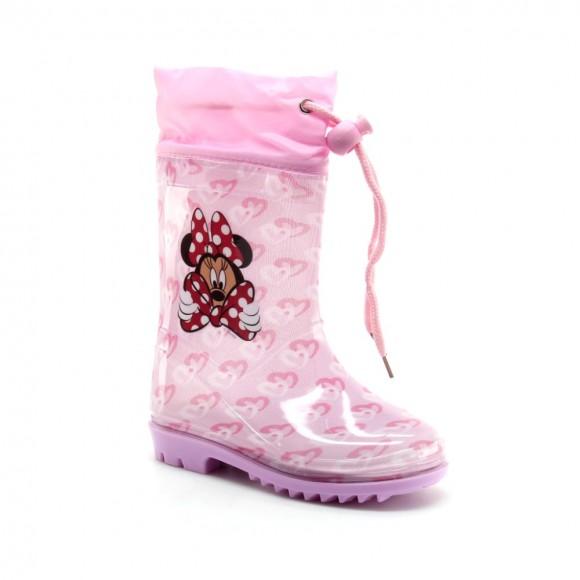 Botas de agua Minnie Rosa