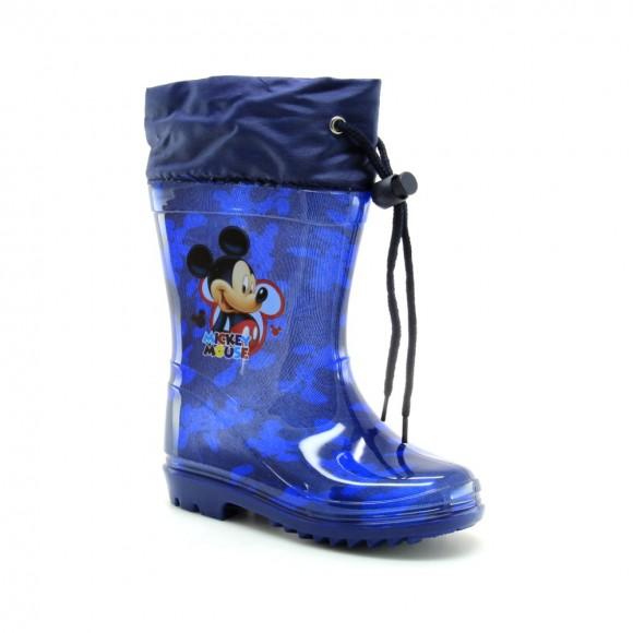 Botas de agua Mickey Azul