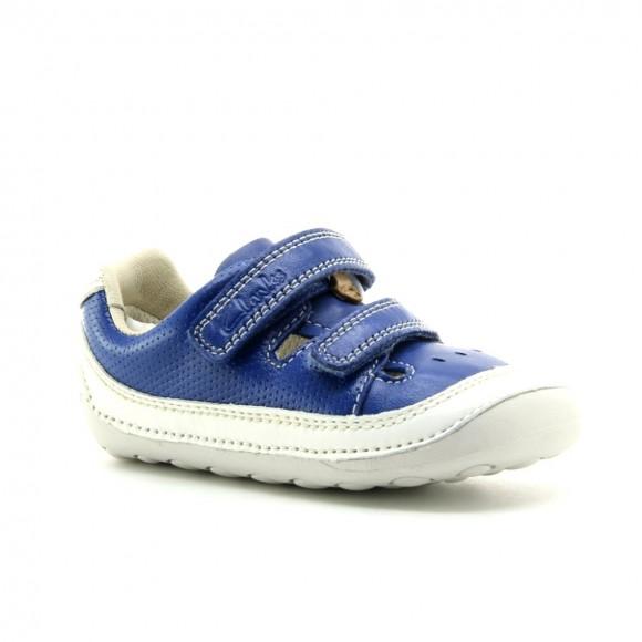 Zapatos Clarks Tiny Boy Azul